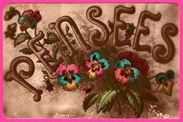 Pensées - Alsace - Fleurs - 1923 - Colorisée - Blumen