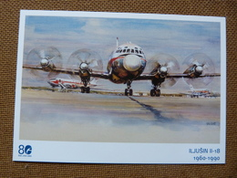 AIRLINE ISSUE / CARTE COMPAGNIE   OK JET CSA   IL 18 - 1946-....: Era Moderna