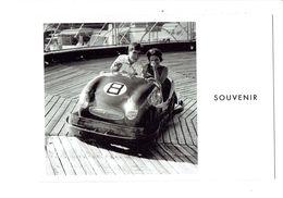 Cpm - JEAN POTTIER - Souvenir - Femme Homme Manège Fête Des Loges St Germain EN Laye Voiture Karting 1960 - Cartoline