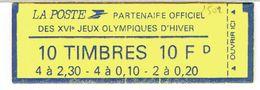 CARNET 1502 MARIANNE BRIAT JO HIVER COMBINE - Carnets