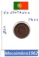 *AN.34 - 50 Centavos 1961 Angola Portuguesa - Colonia - Angola