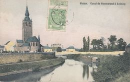 BLATON   CANAL  ANTOING  POMMEROEUL - Belgio