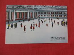 Iceland Skating Rink 50th Street  NYC ---ref 2864 - Postcards