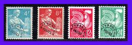 1954 - Francia - Sc. 707 - 710 - MNH - Lujo - FR-004 - Francia