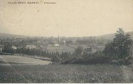 GRAND-MENIL MANHAY : Panorama Cachet De La Poste 1913 - Manhay