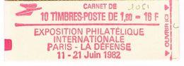 CARNET 2187C2 LIBERTE DELACROIX PHILEXFRANCE 1.60/10 - Libretti