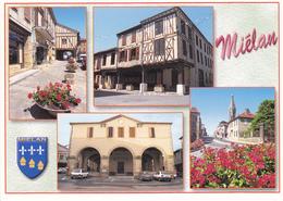 32 MIELAN / MULTIVUES / BLASON - France