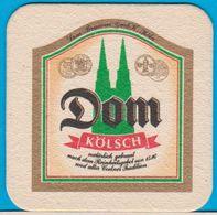 Dom-Brauerei Köln ( Bd 1086 ) Hintergrund Orange - Sous-bocks