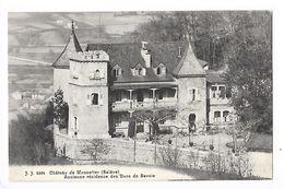 Château De Monnetier (Salève)  (cpa 74)  Ancienne Résidence Des Ducs De Savoie    - L 1 - Autres Communes