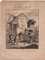Au Bon Marché/Maison Boucicaut/Vieilles Estampes XVIIIè/Le SABOT/Devambez Gr /Vers 1880-90 IMA422 - Au Bon Marché