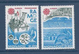Monaco - YT N° 1520 Et 1521 - Neuf Sans Charnière - 1986 - Monaco