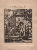 Au Bon Marché/Maison Boucicaut/Vieilles Estampes XVIIIè /Le Coupe - Tête /Devambez Gr /Vers 1880-90 IMA423 - Au Bon Marché