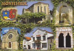 32 MONTESTRUC / MULTIVUES / BLASON - France