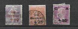France 1928 Caisse D' Amortissement    Cat Yt N° 249, 250,251, Oblitérés - France