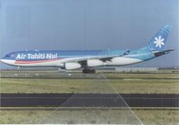 Air Thaiti Nuir A340 F-OJGF - 1946-....: Era Moderna