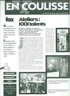 Euro Disney Mickey EN COULISSE N°1 Vol 3 10/92 Pour CAST MEMBERS  Ouverture En 1992 TB ORIGINAUX Pour Toutes Mes Ventes. - Organisations