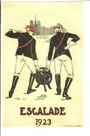 SUISSE Geneve ESCALADE 1923 Par Les étudiants - Switzerland
