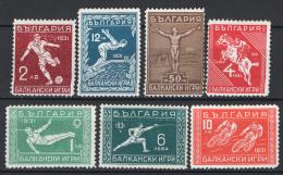 Bulgaria 1931 Unif.242/48 **/MNH VF - 1909-45 Regno