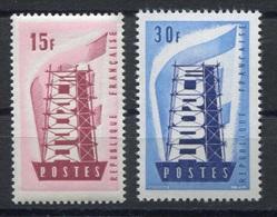 RC 7400 FRANCE N° 1076 / 1077  - EUROPA 1956 NEUF ** TB - Europa-CEPT