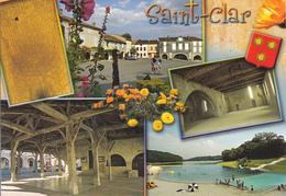 32  SAINT CLAR / MULTIVUES / BLASON - France