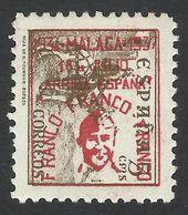 Spain, Malaga 5 C. 1937, Mi # 25, MH - Nationalistische Uitgaves
