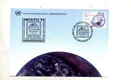 Carte Maximum 1986 Philatelie - Cartoline Maximum