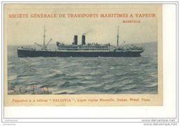 PAQUEBOT VALDIVIA - Dampfer