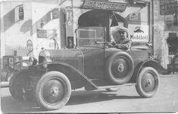 Automobile Ancienne Non Identifiée - Carte Photo Originale Noir Et Blanc - Cars