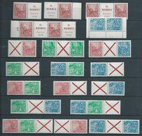DDR Jaar 1959 Diverse Combinaties Uit Boekjes - [6] République Démocratique