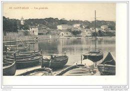06 SAINT JEAN SUR MER,SAINT JEAN CAP FERRAT VUE GENERALE AVEC BATEAUX - Saint-Jean-Cap-Ferrat