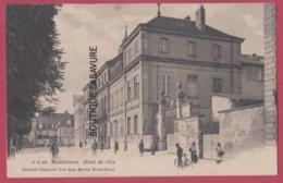 25 - MONTBELIARD--Hotel De Ville----animé - Montbéliard