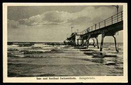 See-und SOOLBAD Swinemunde.   Aniegebrucke - 21149 Julius Simonsen - Non Viaggiata - Rif. 16523 - Pommern