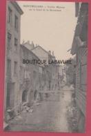 25 - MONTBELIARD--Vieilles Maisons Sur Le Canal De La Savoureuse - Montbéliard