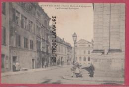 25 - MONTBELIARD--Vieilles Maisons Espagnole La Caisse D'Epargne---animé - Montbéliard