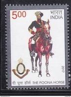 INDIA, 2017, The Poona Horse, Militaria, MNH, (**) - Inde