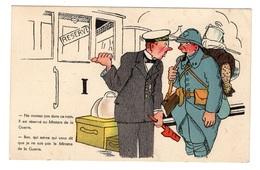 MILITARIA - Carte Humoristique - Humorísticas