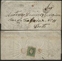 PORTUGAL, 1876, D. LUIZ I, NICE COVER FROM CASTELO DE VIDE TO PORTO, VERY FINE - Cartas