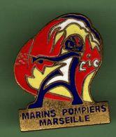 MARINS POMPIERS MARSEILLE *** N°1 *** Signe FC PIN'S *** A053 - Feuerwehr