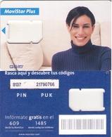 TARJETA TELEFONICA DE ESPAÑA, (SIM) 254. - Espagne