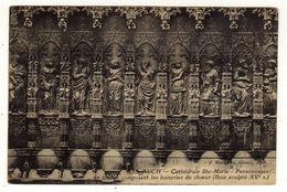 Cpa N° 59 AUCH Cathédrale Sainte Marie Personnages Et Stalles Composant Les Boiseries Du Choeur - Auch