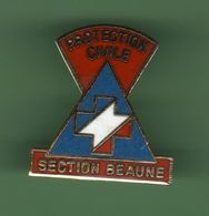 PROTECTION CIVILE *** SECTION BEAUNE *** A053 - Bomberos