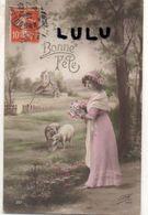 FEMMES N° 358 : Mouton église Fleurs , Bonne Fête : édit. P H Paris N° 351 - Femmes