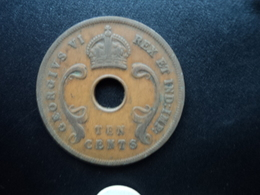 AFRIQUE DE L'EST (ANGLAIS) : 10 CENTS  1937 H  KM 26.1   TTB - British Colony