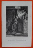 Image Pieuse - St LOUIS DE GONZAGUE - XIXème - Images Religieuses