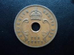 AFRIQUE DE L'EST (ANGLAIS) : 10 CENTS  1949  KM 34   TTB(+) - British Colony