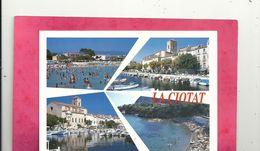 """CPM. MULTIVUES """" LA CIOTAT """" AFFR LE 8-8-2001 AU VERSO . 2 SCANES - La Ciotat"""