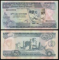 Ethiopia 50 BIRR 1991 Sign 4 P 44b VF - Ethiopie