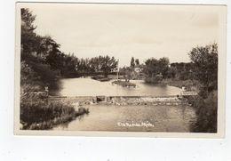 ELK RAPIDS, Michigan, USA, Park & Dam, 1939 RPPC - Etats-Unis