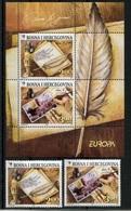 RC 7408 EUROPA 2008 BOSNIE HERZEGOVINE + BLOC NEUF ** - Europa-CEPT