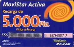 TARJETA TELEFONICA DE ESPAÑA, (PREPAGO) 268. - Espagne